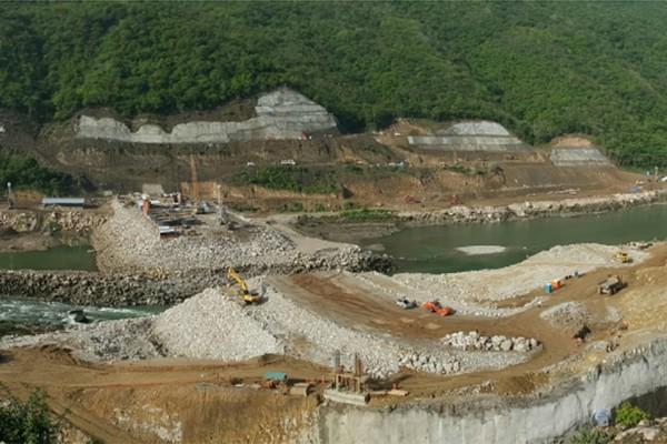 Proyecto Hidroeléctrico Chicoasen II; Chiapas México.