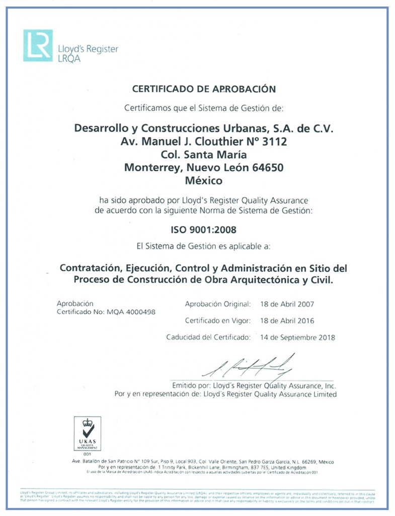 ISO 9001 2018